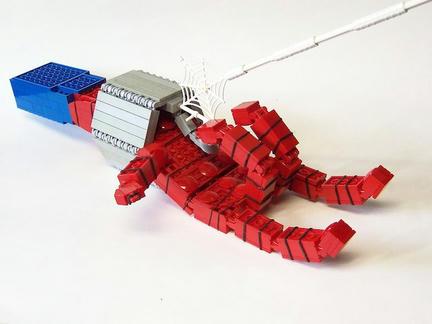 LEGOスパイダーマンの手