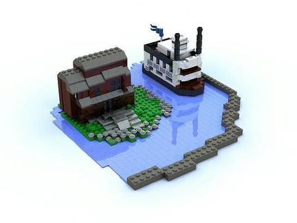 LEGOマーク・トウェイン号