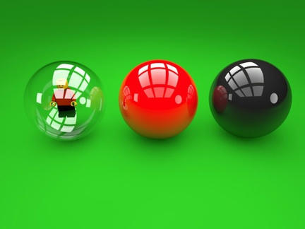 LEGOビリヤードのボール