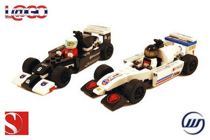 ウィリアムズとザウバーのF1マシン