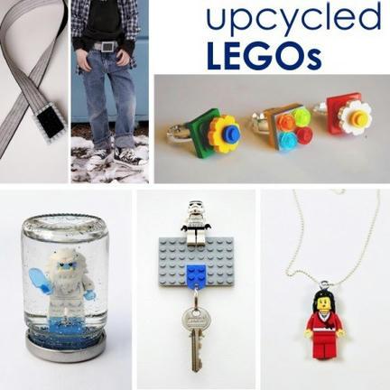 LEGOをアクセサリーや雑貨にアップサイクル