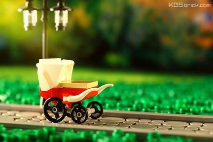 LEGO乳母車