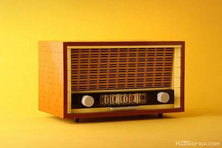LEGOビンテージラジオ