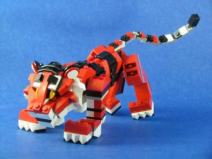 LEGO虎!