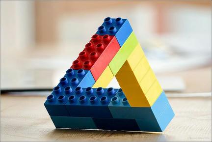 LEGO不可能図形