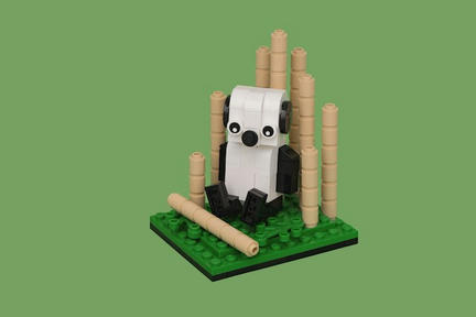 LEGO仔パンダ