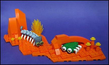 LEGOの奇妙な生物