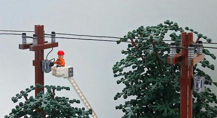 LEGO電線