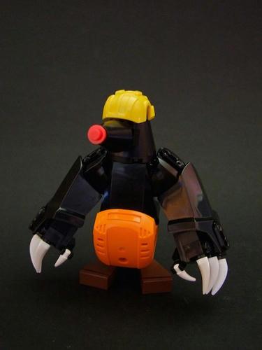LEGO炭坑夫