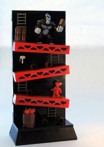 LEGOのザ・フラッシュVSゴリラ・グロッドがどこかで見た感じに…