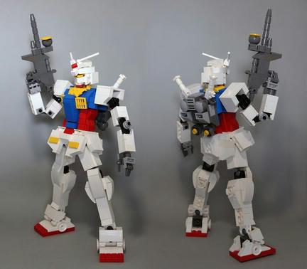 LEGO RX-78-2ガンダム