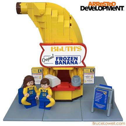 LEGO冷凍バナナ屋さん