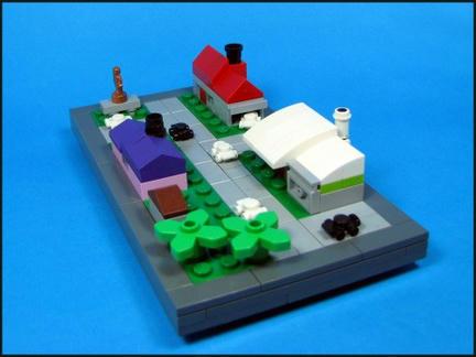 LEGOタウン「ナノトピア」