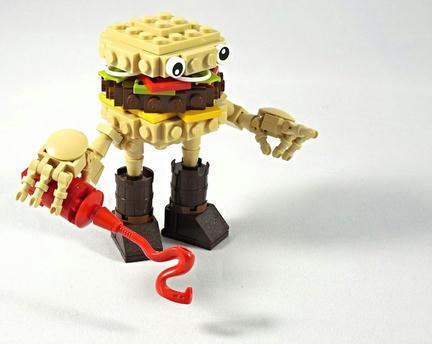 LEGOチーズバーガー君