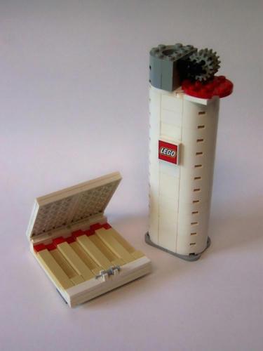 LEGOライター&LEGOマッチ