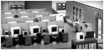 70年代のオフィス