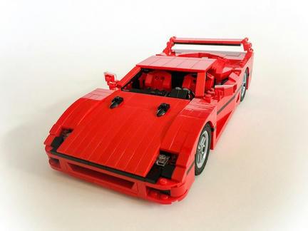 LEGOフェラーリF40