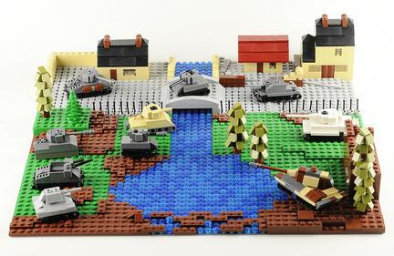 レゴミニ戦車