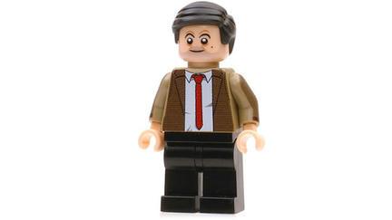 「Mr.ビーン」のミニフィグ