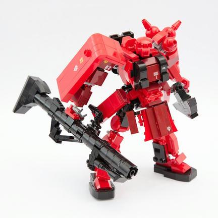 赤いレゴザク