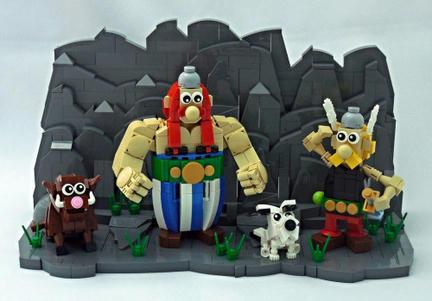 LEGOアステリックス&オベリックス