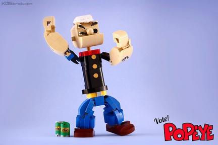 LEGOポパイ