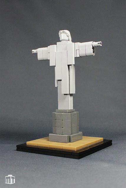 LEGOコルコバードのキリスト像