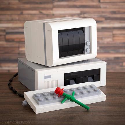 レゴで80年代パソコン