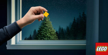 LEGOのクリスマス広告1