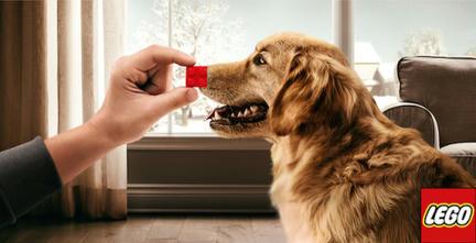 LEGOのクリスマス広告2