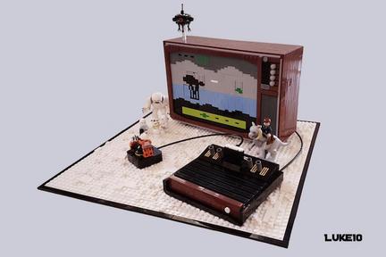 LEGOでATARI2600のスター・ウォーズを再現
