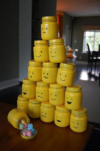 LEGO的な瓶
