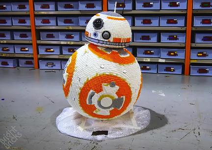 実物大LEGO BB-8