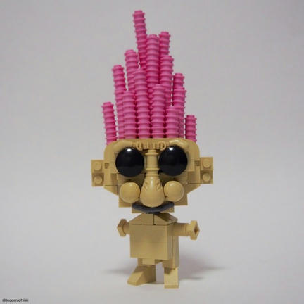 懐かしのLEGOトロール人形