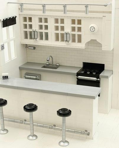 LEGOのモダンなキッチン