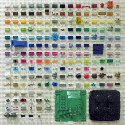 LEGOカラーチャート