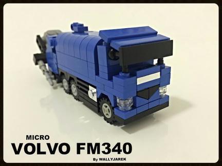 LEGOボルボトラック