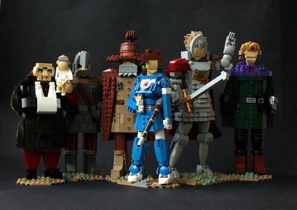 LEGOナウシカファミリー