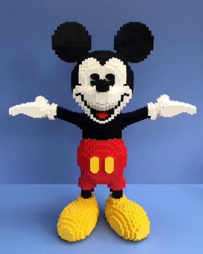LEGO白ミッキー