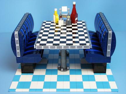LEGOアメリカンなテーブル