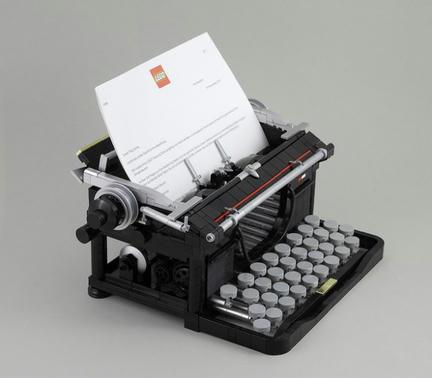 LEGOタイプライター