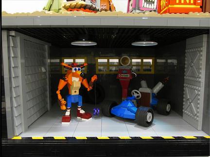 LEGOクラッシュ・バンディクー