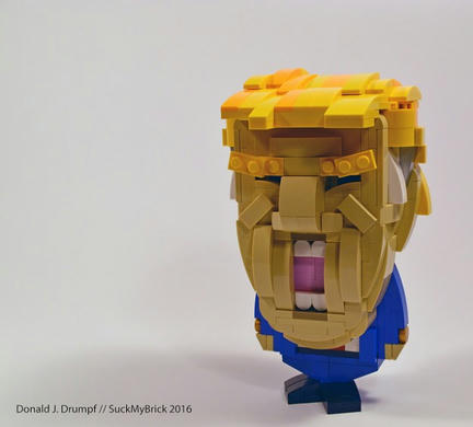 LEGOトランプ氏