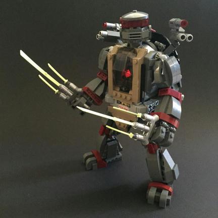 LEGOタートルズ・ロボ
