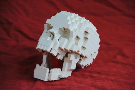 LEGOしゃれこうべ
