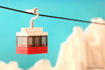 LEGOロープウェー