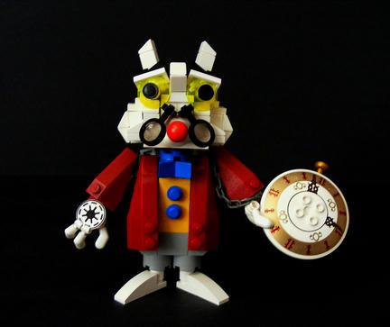 LEGO白うさぎ