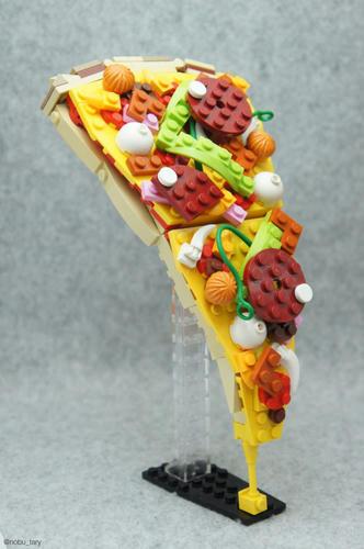 LEGOピザ