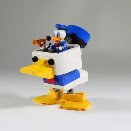 LEGOドナルドダックマシン