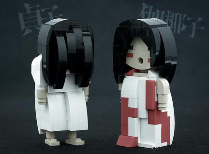 LEGO『貞子 VS 伽椰子』